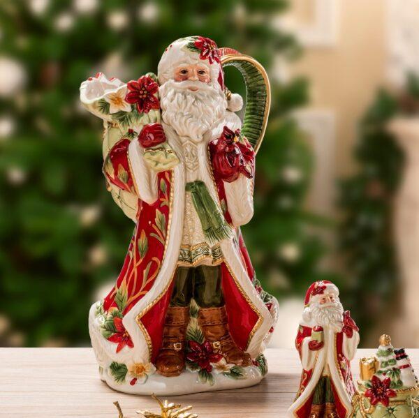 "NY Кувшин ""Дед Мороз с подарками"", 30 h, керамика"