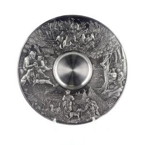 Тарелка декоративная «Охота» - Фото