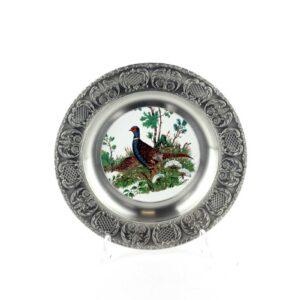 Тарелка декоративная «Фазан» - Фото