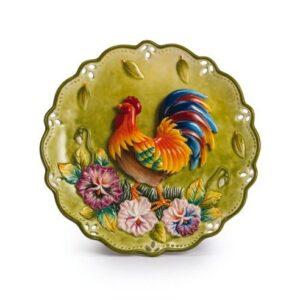 Тарелка декоративная «Петух» - Фото