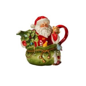 Чайник «Дед Мороз в мешке», 18 см - Фото