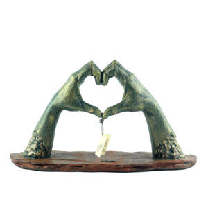 Фигура «Сердце»/ бронза - Фото