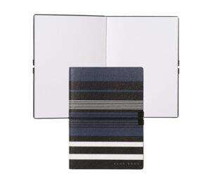 Блокнот для заметок Hugo Boss A6 Storyline Stripes Blue - Фото