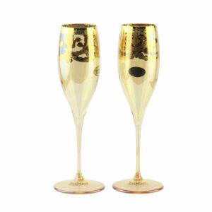 Бокалы для шампанского «FLUT Premium» VENEZIANO 2 шт - Фото