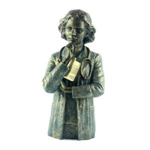 Статуэтка «Доктор», бронза - Фото