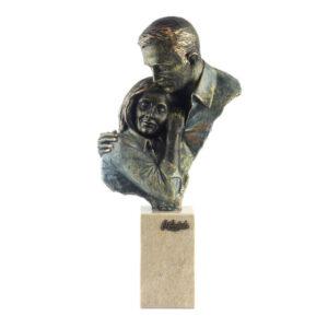 Статуэтка «Безмятежность влюбленных», бронза - Фото