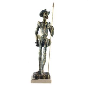 Статуэтка «Дон Кихот», бронза - Фото