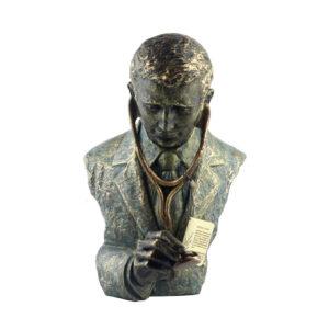 Статуэтка «Врач», бронза - Фото