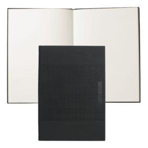 Записная книжка Hugo Boss Grid А5 черный - Фото