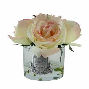 Парфюмированные цветы «Пять роз-Pink Blush» - Фото
