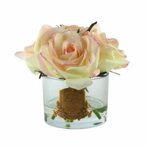 Парфюмированные цветы «Пять роз-Pink Blush», арома спрей Savon - Фото
