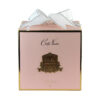 Парфюмированные цветы «5 роз прозрачной вазе» с ароматическим спреем Savon