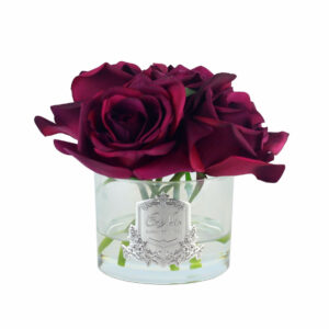 Парфюмированные цветы Cote Noire «Пять роз-Carmine Red», арома спрей - Фото