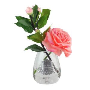 Парфюмированные цветы Cote Noire «Чайная роза-White Peach», арома спрей - Фото