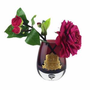 Парфюмированные цветы Cote Noire «Чайная роза-Сarmine Red», арома спрей - Фото