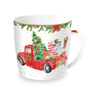 Чашка «Санта и Снеговик» - Фото
