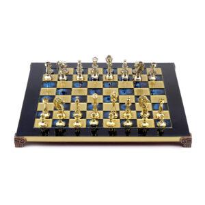 ШахматыClassic, синяя эмаль - Фото