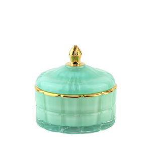 Аромасвеча Cote Noire Art Deco «Candle in blue», тиффани 200 г - Фото