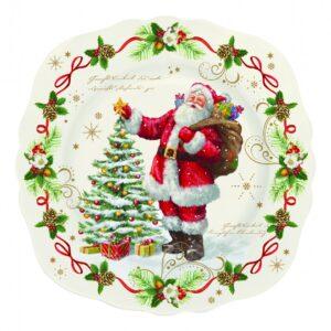 Десертная тарелка «Волшебное рождество», 20 см - Фото