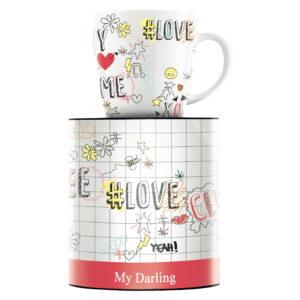 Чашка для кофе My Darling от Concetta Lorenzo 9,5 см - Фото