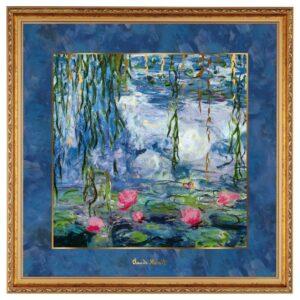 Картина «Кувшинки с ивой» Клод Моне, 68 х 68 см - Фото