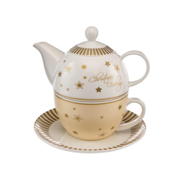 """Чайник для заварки """"Рождественское чувство"""" 15,5 см"""