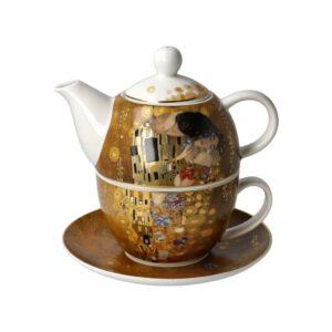 Набор чайный «Поцелуй» Густав Климт, 15,5 см - Фото