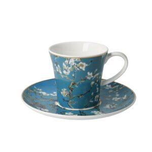 Чашка с блюдцем «Миндальное дерево» Винсент ван Гог, 350 мл - Фото
