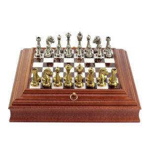 Шахматы «Arabesque», коричневые 37х37 см - Фото