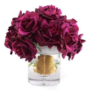 Парфюмированные цветы Cote Noire «Букет бордовых роз», арома спрей Savon - Фото