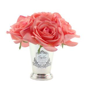 Парфюмированные цветы Cote Noire «Чайная роза-White Peach», арома спрей Savon - Фото