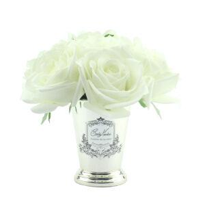 Парфюмированные цветы Cote Noire «Семь белых роз-Ivory White», арома спрей Savon - Фото