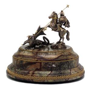 Статуэтка «Георгий Победоносец» - Фото