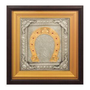 Сувенир «Подкова с камнями» - Фото