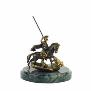 Статуэтка «Георгий Победоносец», 14 см - Фото