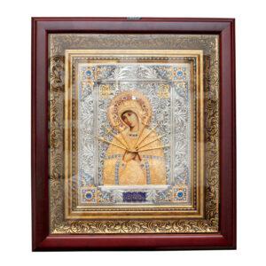 Икона «Пресвятая Богородица Семистрельная» - Фото