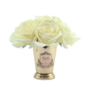 Парфюмированные цветы Cote Noire «Семь белых роз-Shampagne Rose», арома спрей Savon - Фото