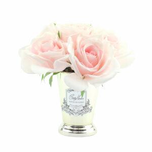 Парфюмированные цветы Cote Noire «Семь розовых роз-French Pink», арома спрей Savon - Фото