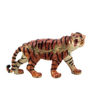 Шкатулка «Тигр»/бронза - Фото