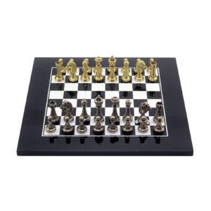 Шахматы «LACQUERED»/чёрно-белые - Фото